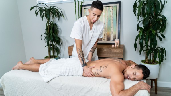 Enjoy Memories Of A Massage on Twinkpop.com Featuring Nic Sahara, Vincent Oreilly