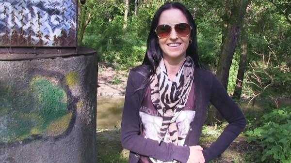 Watch Emilly Zeus in Broke Model Fucks Stranger In The Woods For A Job