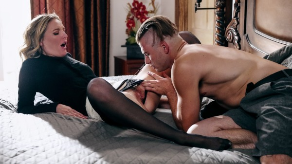Forbidden Affairs Volume 11: Scene 3 Porn DVD on Mile High Media with Nathan Bronson, Mona Wales