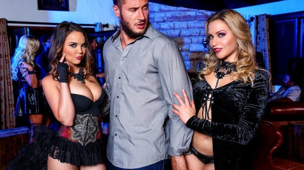 Hot Chicks Big Fangs 2 - Scene 2 - Danny Mountain, Mia Malkova, Dillion Harper