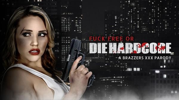 Die Hardcore: A XXX Parody - Brazzers Porn Scene