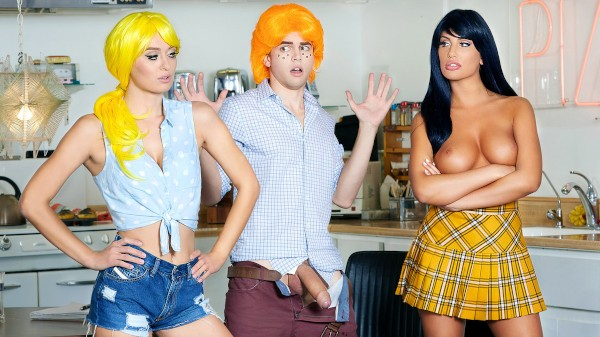 Betty & Veronica: An Archie Comics XXX Parody - August Ames, Alex D, Natalia Starr