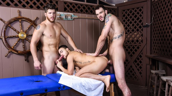 Enjoy Couples Massage Part 2 on Twinkpop.com Featuring Beaux Banks, Cliff Jensen, Ashton McKay