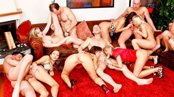 Bachelor Party Orgy Scene 5 Porn DVD on Mile High Media with Abigaile Johnson, Christina Lee, George Uhl, Cindy Dollar, Cynthia Vellons, Dillon Day, Leny Ewil, Kamil Klein, Rachel Evans, Simone Style, Sharka Blue, Steve Q, Thomas