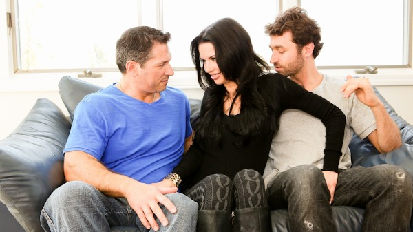 DP My Wife With Me #02 Scene 4 Porn DVD on Mile High Media with James Deen, John Strong, Veronica Avluv