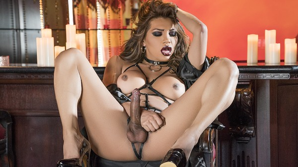 Watch From Lace to Leather featuring Jessy Dubai Transgender Porn