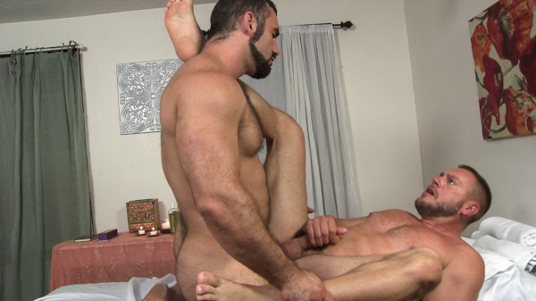 Inappropriate Touching Please! Scene 2 - Hans Berlin, Jaxton Wheeler