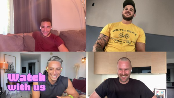 Watch Watch With Us: Look What the Boys Dragged In on Male Access - All the Best Gay Porn in One place