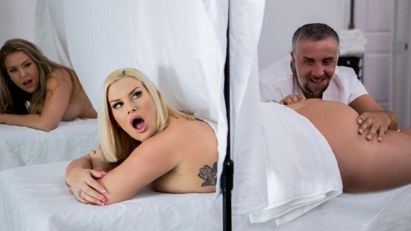 Behind The Curtain - Brazzers Porn Scene
