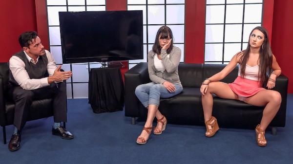 Wild Teen Talk Show - Ryan Driller, Lily Adams