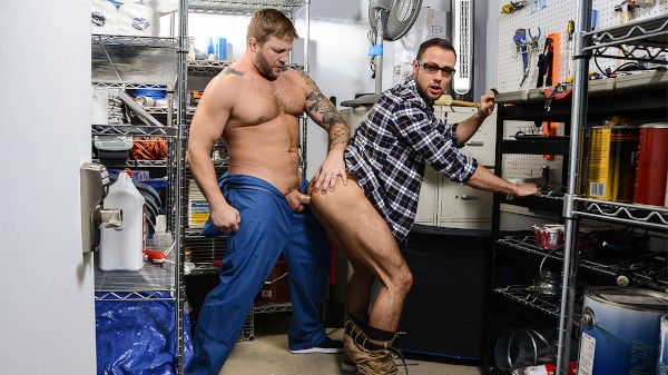 Enjoy Janitor's Closet Part 2 on Twinkpop.com Featuring Colby Jansen, Brendan Phillips