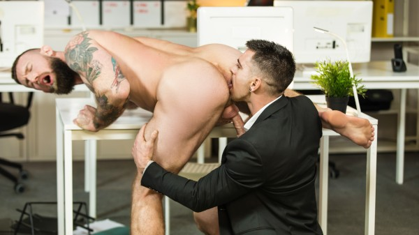 Watch Putting the ASS in Assistant: Part 3 on Male Access - All the Best Gay Porn in One place