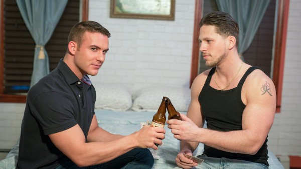 Thirsty for Straight Boys Scene 1 - Roman Todd, Killian James