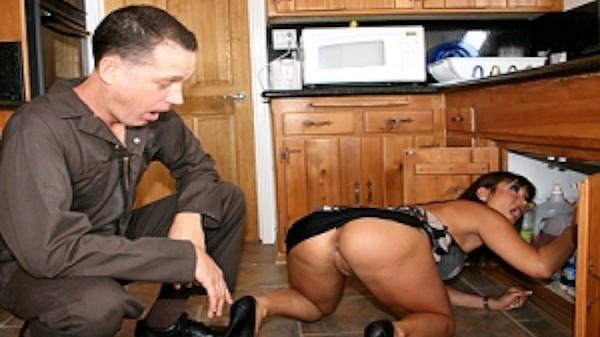 Pipe-ing Hot! - Brazzers Porn Scene