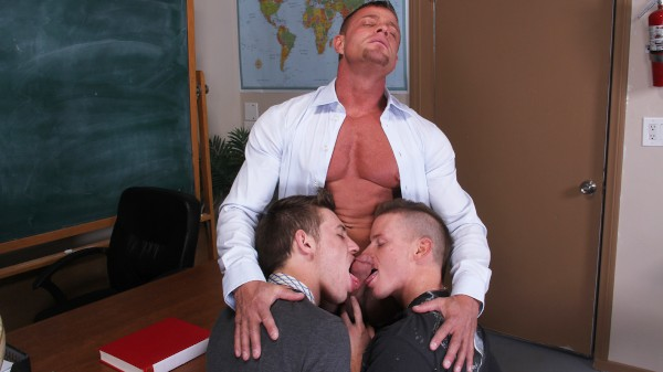 Enjoy The Exchange Student on Twinkpop.com Featuring James Ryder, Tyler Saint