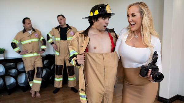 Red-Hot Calendar Shoot - Brazzers Porn Scene