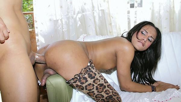 The Wild Side Trans Fetish 100% real on TransHarder.com starring Jackeline Oliveira