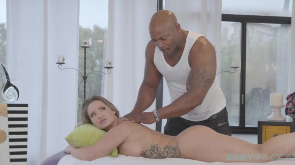 Cali Carter gets fucked hard by her BBC masseur