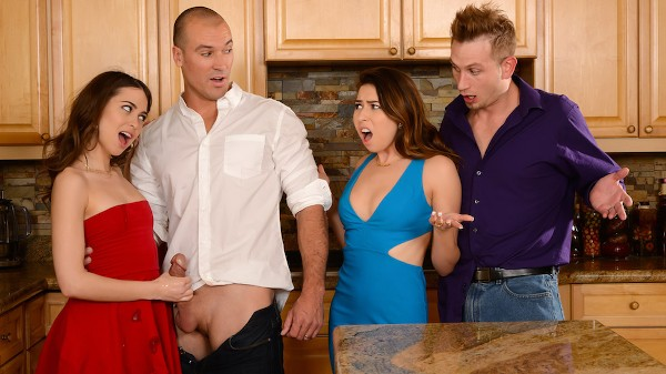 Dinner For Sluts - Brazzers Porn Scene