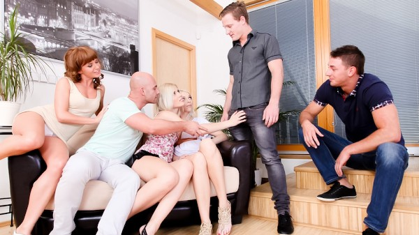 5 Incredible Orgies #02 Scene 4 Porn DVD on Mile High Media with Bella Baby, David Begua, John Paul, Sandy E, Neeo