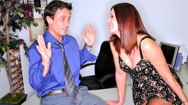 Office Seductions Scene 4 Porn DVD on Mile High Media with Alan Stafford, Magdalene St. Michaels