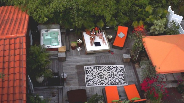 Watch Kacey Lane, Gianna Nicole in Rooftop Rub