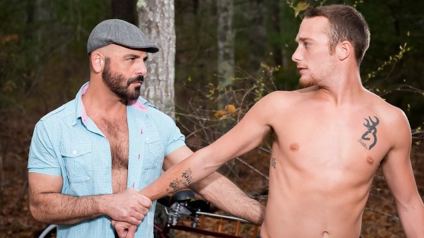 Enjoy Fuck me behind style Scene 1 on Taboomale.com Featuring Adam Russo, Derek Reed