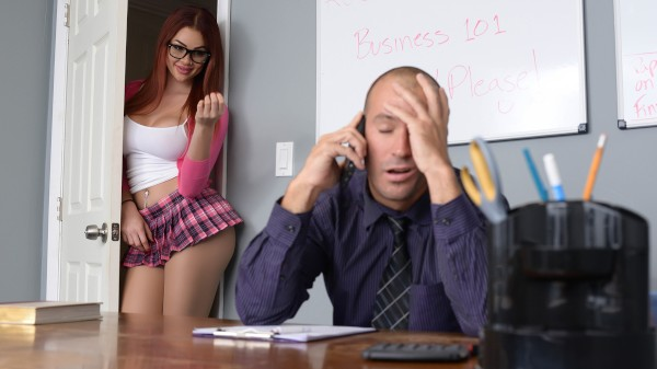Skyla Hates Studying - Brazzers Porn Scene