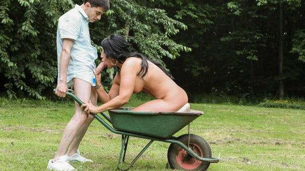 A View of the English Cuntryside - Brazzers Porn Scene