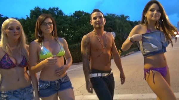 Watch Holly Nowell, Cara Swank, Aubrey James in End of Summer Party