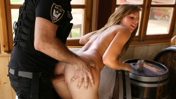She Loves Fucking A Cop Cowgirl ft Cara Wolf - FakeHub.com