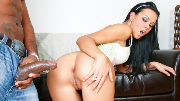 How's That Big Cock Gonna Fit In My Ass Scene 2 Porn DVD on Mile High Media with Suzie Diamond