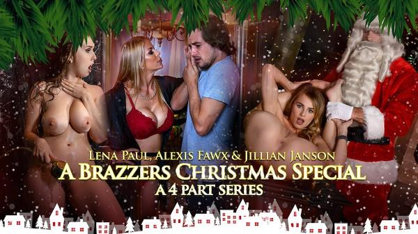 A Brazzers Christmas Special - Brazzers Porn Scene