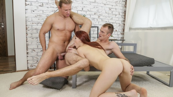 Bi Family Secrets Vol. 2 Scene 2 - You're Banging Your Stepsister Bisexual Orgy on Bi Empire with Charlie Red