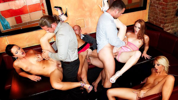 Bachelor Party Orgy #03 Scene 2 Porn DVD on Mile High Media with Angie, Denisa Heaven, Mia Hilton, Kari, Veronica Diamond