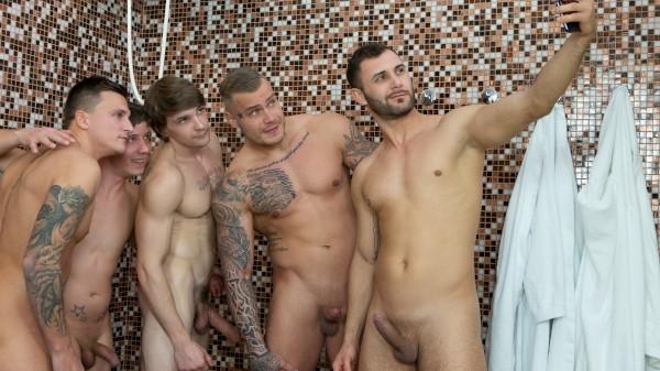 Dudes in Public 45 – Bathhouse - Tony, Vito, Dom Ully, Ryu, Ryan Cage