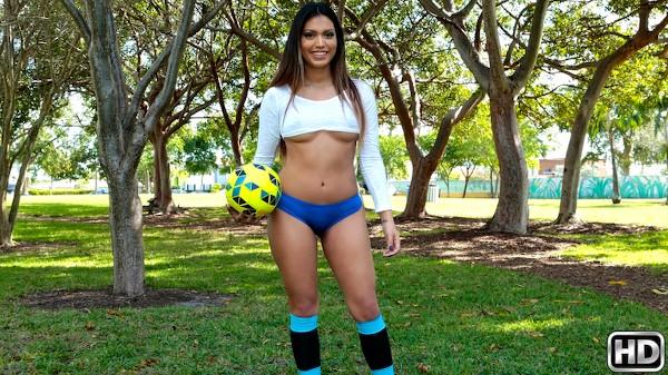 Soccer Sucker with Bruno Dickens, Nicole Ray at 8thstreetlatinas.com