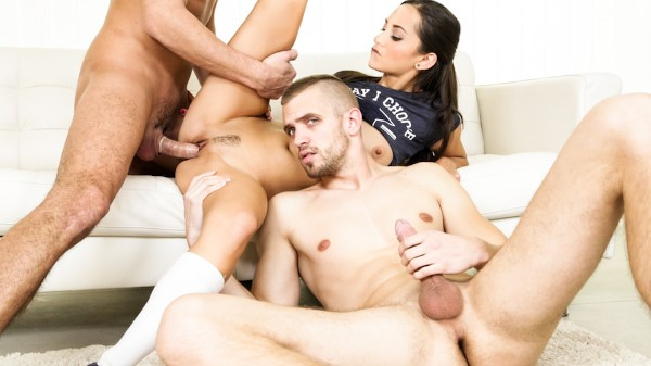 Break Time! Scene 4 Bisexual Orgy on Bi Empire with Rami Mikki
