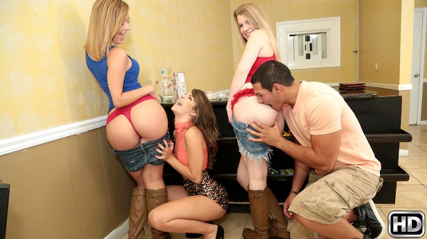 Grab That Ass with Tony Martinez, Kimmy Granger, Kelly Greene at moneytalks.com