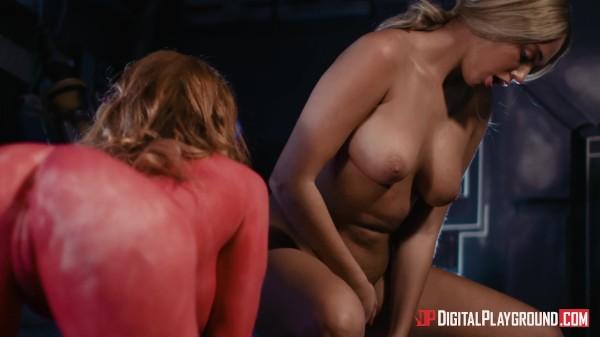 Hand Solo: A DP XXX Parody Scene 3 - Danny D, Athena Palomino, Carly Rae Summers