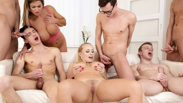 CUMSHOTS BI Orgies #03 Scene 5 Bisexual Orgy on Bi Empire with Alex Vichner