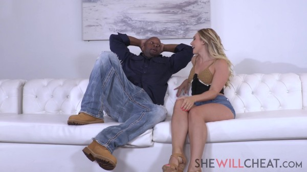Unsatisfied wife AJ Applegate needs BBC instead of her husband
