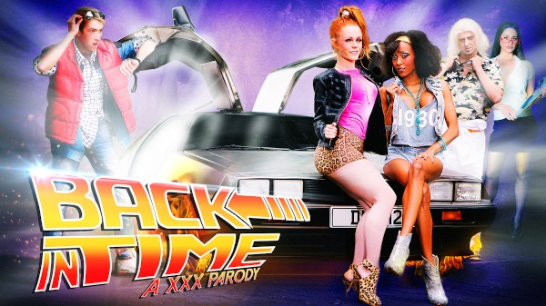 Back In Time: A XXX Parody - Cathy Heaven, Alyssa Divine, Danny D, Pascal White