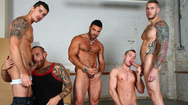 You've Been Caught - feat Jay Roberts, Harley Everett, Rogan Richards, Ryan Stokes, Diesel O Green
