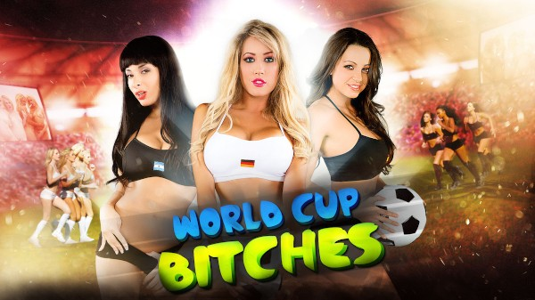 World Cup Bitches - Capri Cavanni, Anissa Kate, Jamie Stone