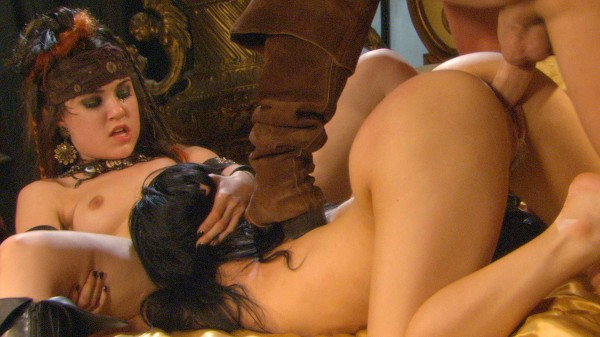 Pirates 2 - Scene 10 - Sasha Grey, Evan Stone, Belladonna