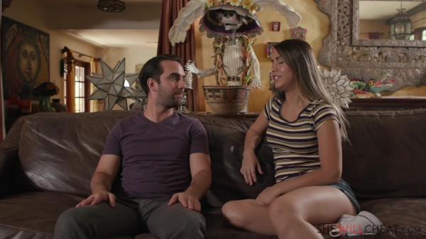 Alina Lopez cheats on her hubby with her neighbor