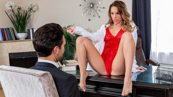 Fucking His Divorce Lawyer with Kimmy Granger, Small Hands at sneakysex.com
