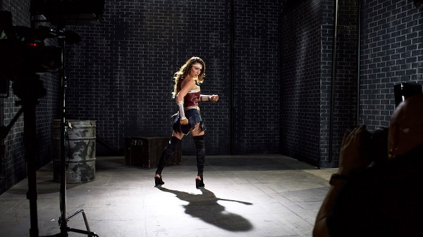 Watch BTS - Wonder Woman: A XXX Trans Parody featuring Chanel Santini, Lance Hart Transgender Porn