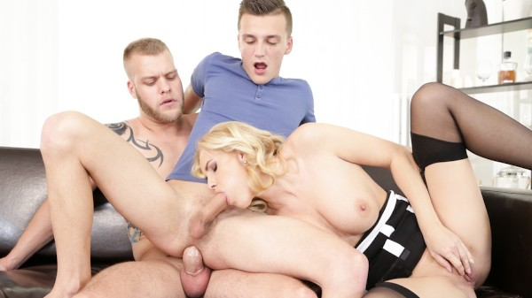 Feeling Better Scene 4 Bisexual Orgy on Bi Empire with Lily Shine